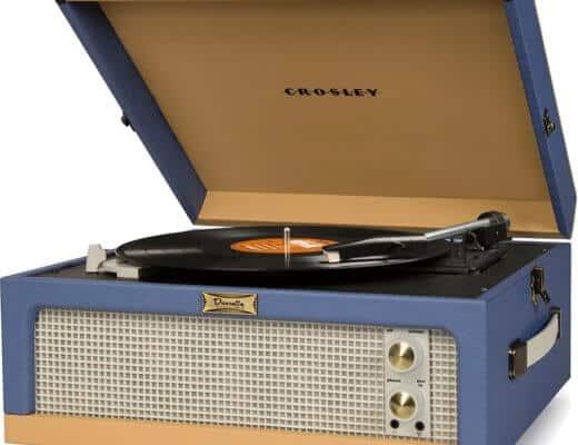 Giradischi valigia Crosley per ascoltare dischi in vinile