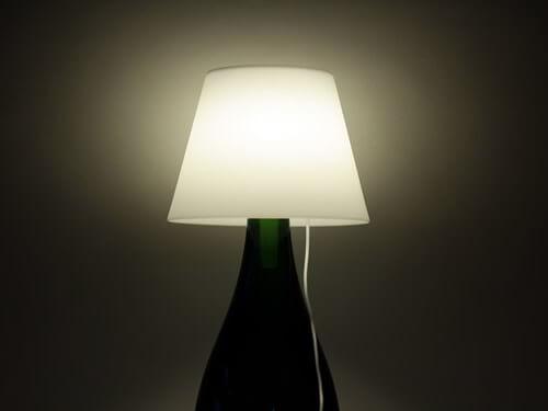 Winey Lamp paralume per bottiglie