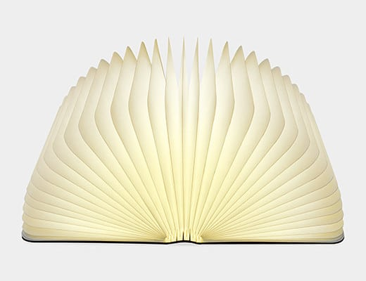 Lumio Book Lamp libro lampada