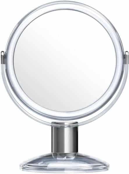 Specchio ingranditore da tavolo 1X e 7X