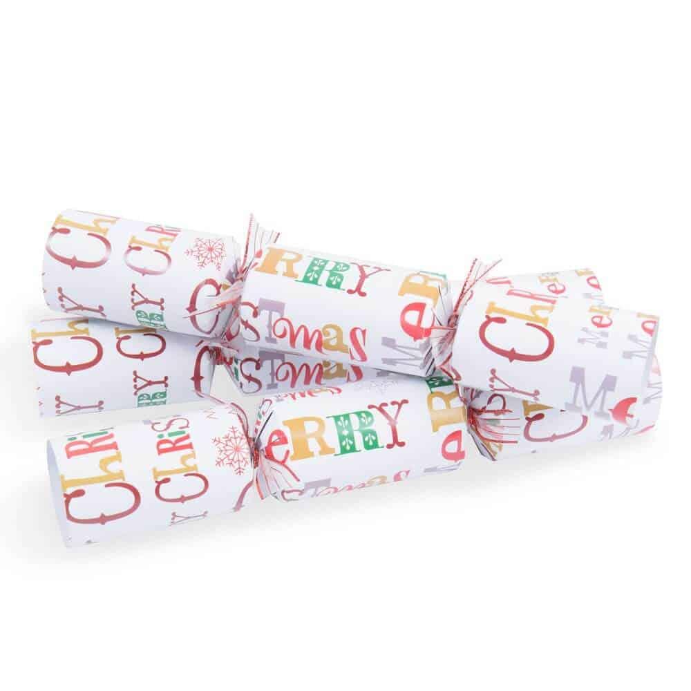Cracker natalizi in Cartone Christmas