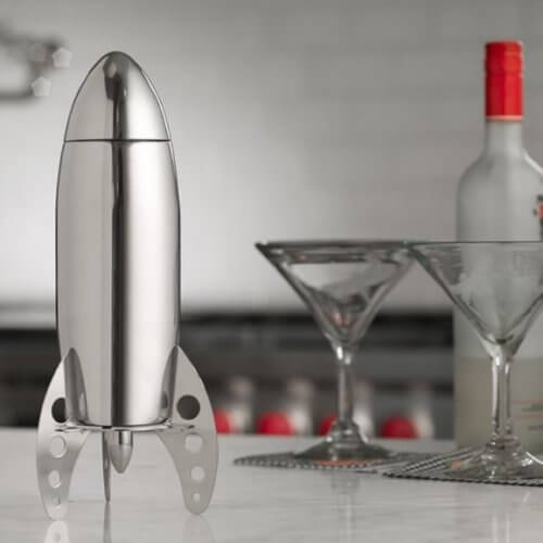 shaker a forma di razzo