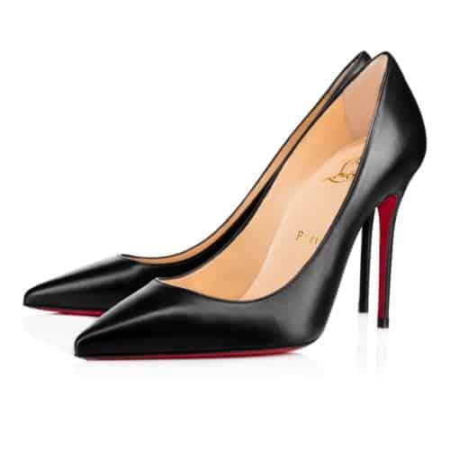 Laboutin decollete 554 100 mm scarpe iconiche