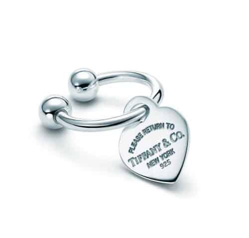 Portachiavi Heart Tag Tiffany Iconic Gift