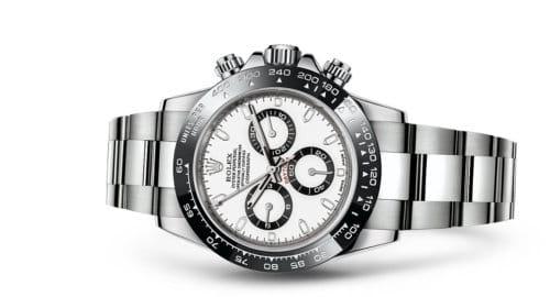 Rolex Daytona Cosmograph quadrante bianco