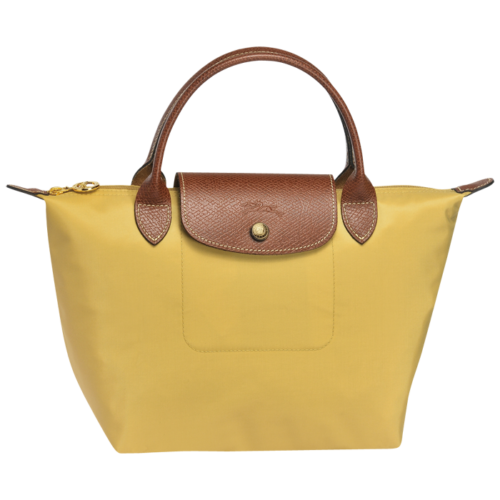 Borsa Longchamp Le Pliage gialla