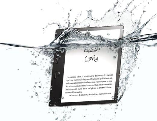 Kindle Oasis: il primo ereader resistente all'acqua
