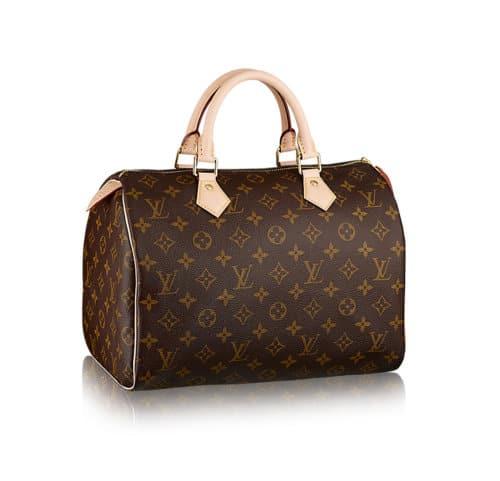 Louis Vuitton Speedy 30 Tela Monogram Iconica
