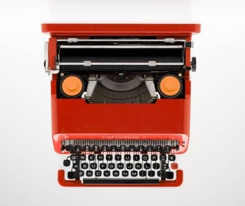 Valentina macchina da scrivere vintage