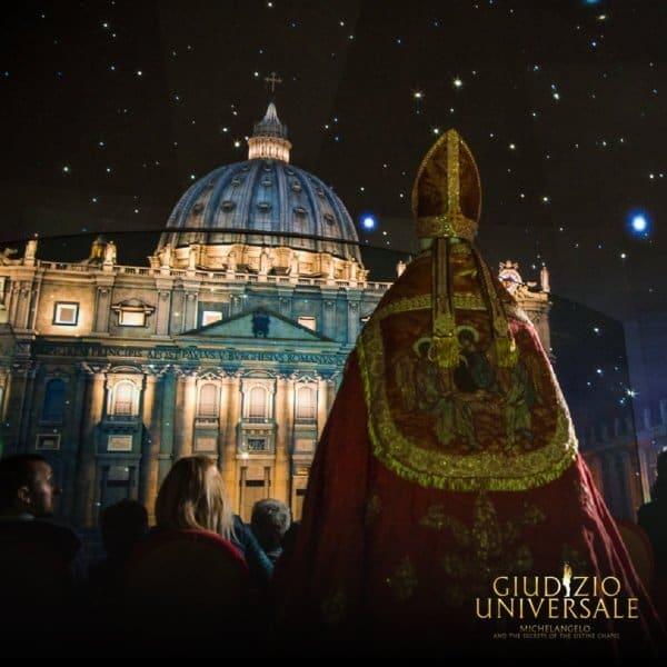 Live Show: Giudizio Universale di Michelangelo