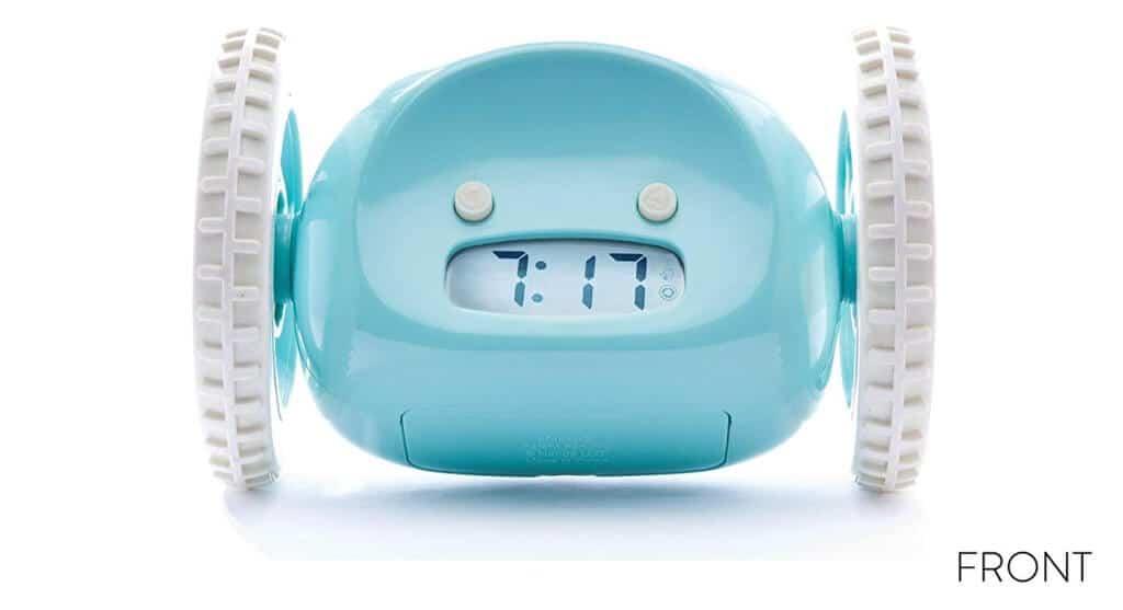 Clocky sveglia che scappa azzurra