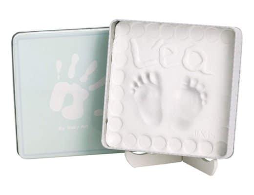 Calco piedini neonato