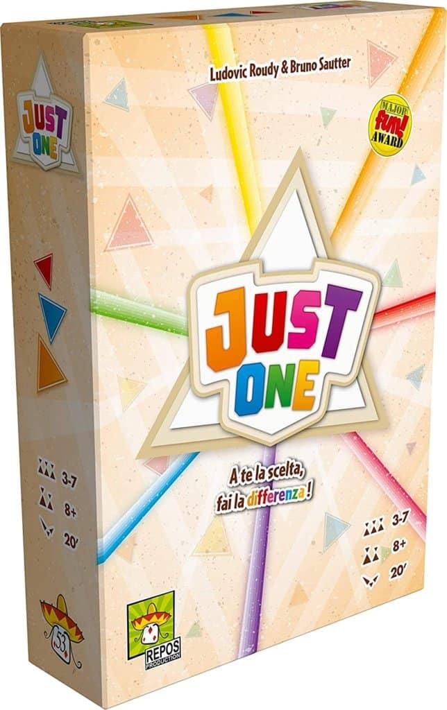 Just One gioco in scatola divertente