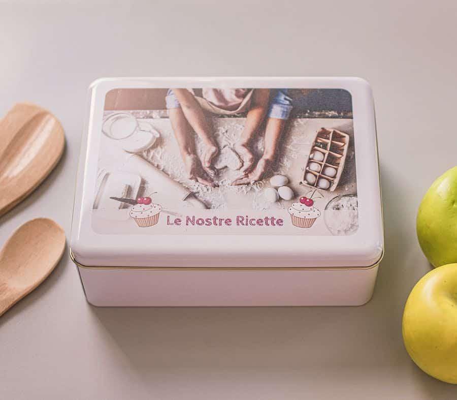 Scatole di latta personalizzate con foto - Photosì