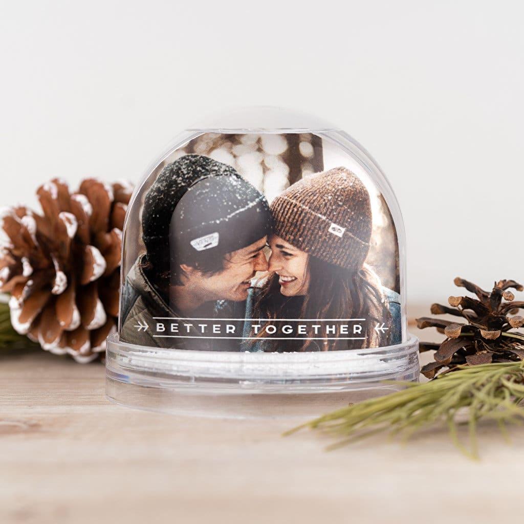 Palla di neve personalizzata con foto - snowball
