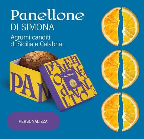 Panettone personalizzato Bauli