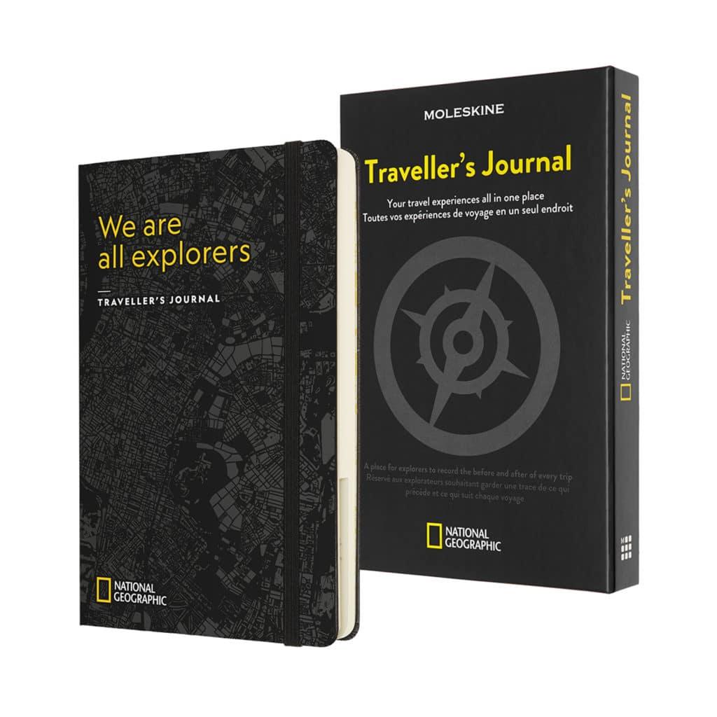 Taccuino di viaggio Moleskine National Geographic Traveler's Journal