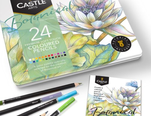 Matite colorate per disegni botanici