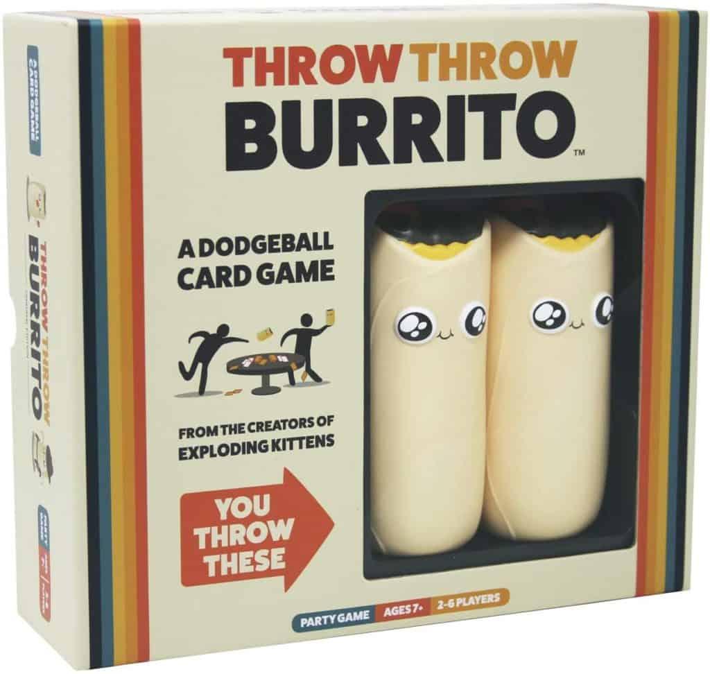 Throw thow burrito party game divertente