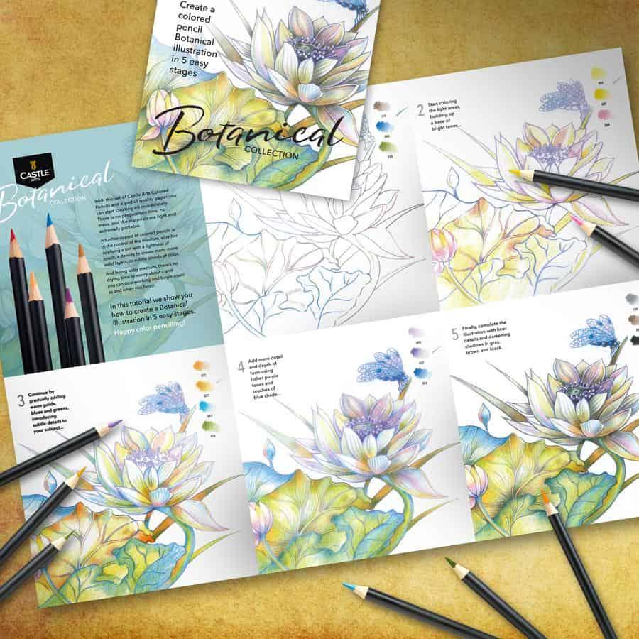 Tutorial disegno botanico