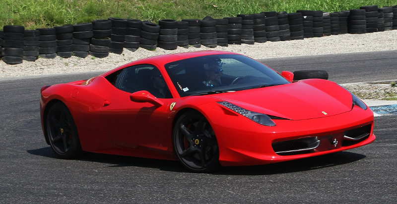 Un giro in Ferrari F458 Italia